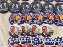 Obama berkampanye dengan staf dan sukarelawan berjumlah besar